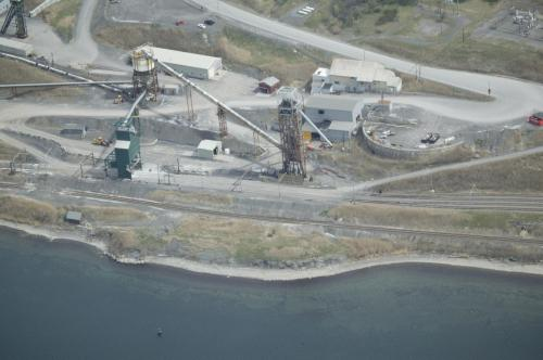 Cargill Directly Adjacent to Cayuga Lake